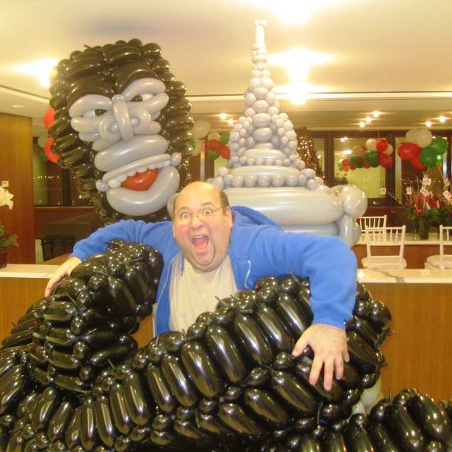 King Kong Balloon Sculpture